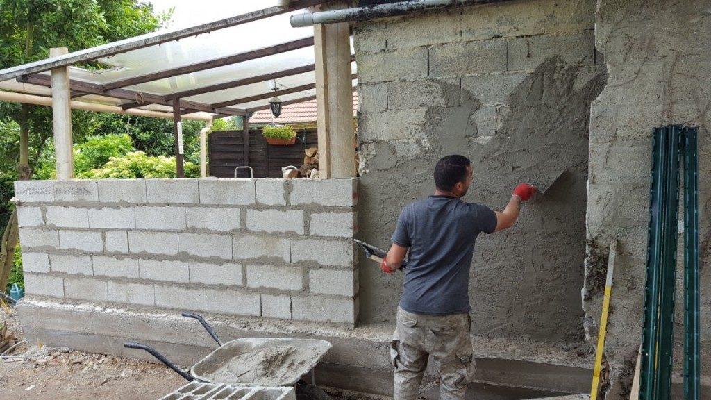 Réfection mur parpaing Ecouen