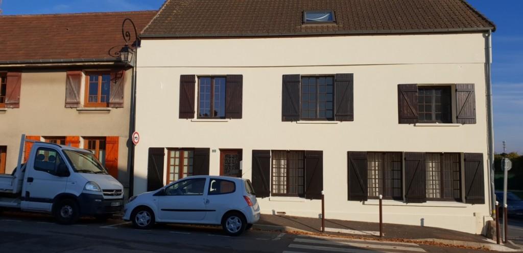 Rénovation façade Mesnil-Aubry
